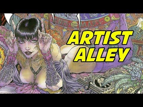 ARTIST ALLEY - Tim Vigil