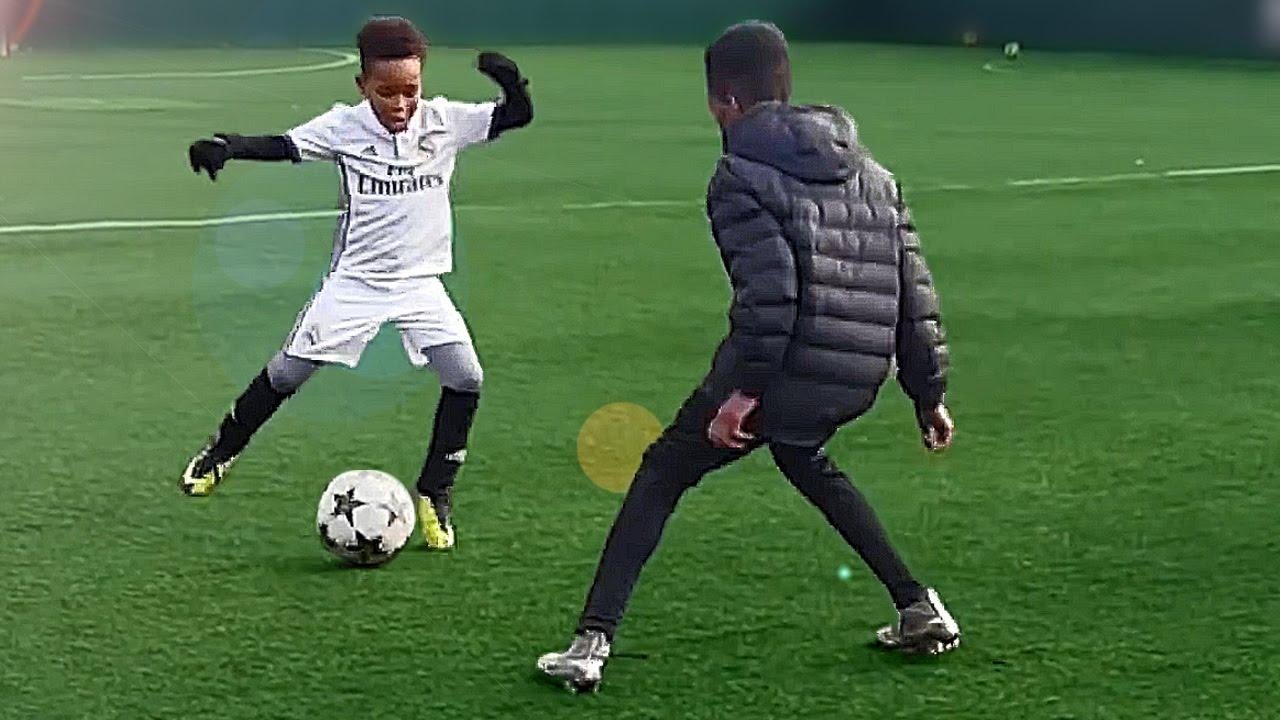 7 Year Old Kid Shows Ronaldo Skills Tutorial For Kids Youtube