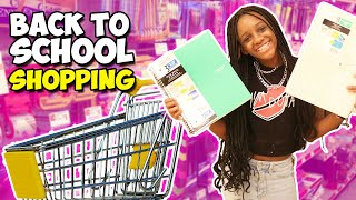 Come Back To School Shopping With Me