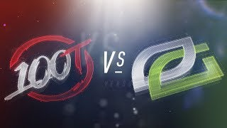 Video 100 vs OPT - NA LCS Week 1 Day 1 Match Highlights (Spring 2018) download MP3, 3GP, MP4, WEBM, AVI, FLV Juni 2018