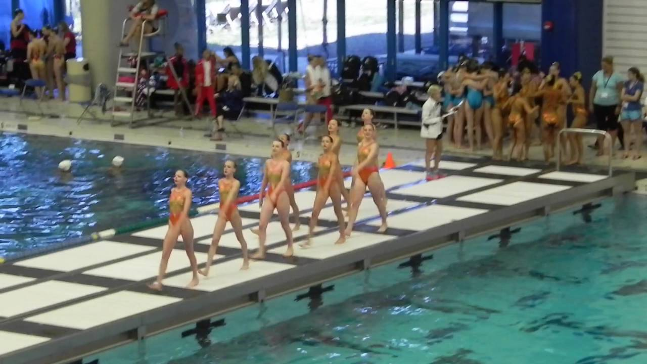 Olympic Swimming Pool 2017 kelsey & maddy at the 2016 u.s. synchronized swimming junior