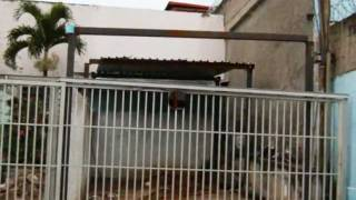 Construcción del estacionamiento del L.N. Gustavo H. Machado