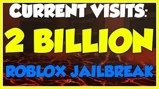 Roblox Jailbreak Live Visit Count | Countdown To 2 BILLION Visits! | Segment 5 🔴