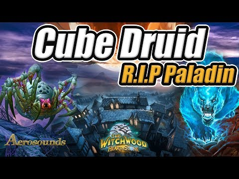 Cube Druid Hearthstone Deck- The Witchwood