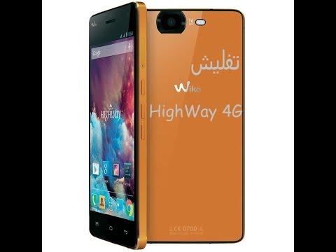 تفليش هاتف ويكو Wiko HighWay 4G