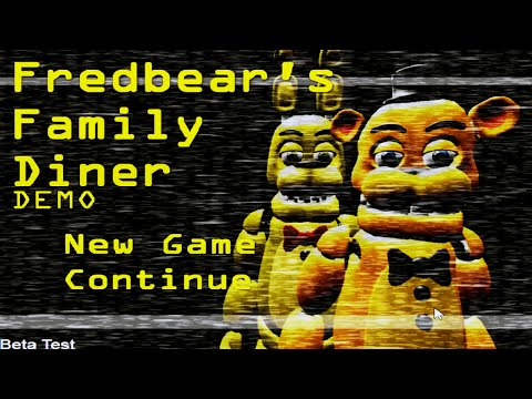 Fredbears Family Diner: Part 1 - Spring Bonnie And Fredbear!