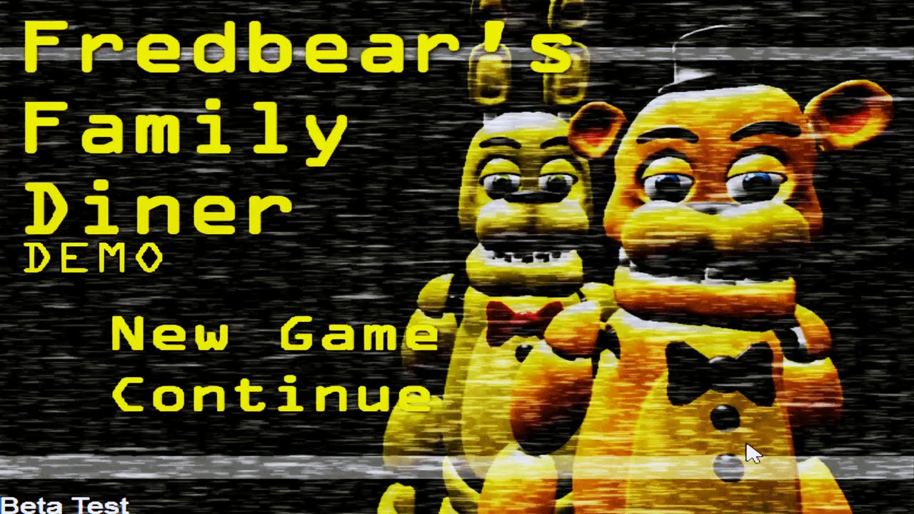 Fredbears Family Diner Part 1 Spring Bonnie And