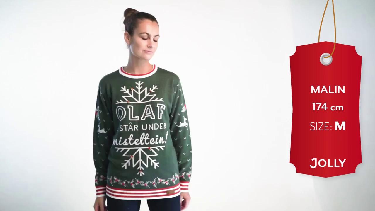 Misteltein Womens Christmas Sweater - YouTube