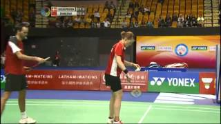 SF - XD - Zhang N./Zhao Y. vs J.Fischer Nielsen/C.Pedersen - 2012 Yonex-Sunrise Hong Kong Open