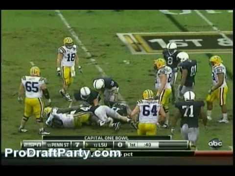 LB Navorro Bowman Highlights/Lowlights 2009 PSU vs Iowa/L S U