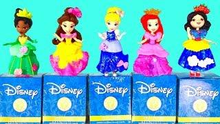 Disney Princesses Little Kingdom - Cinderella Tiana Belle Ariel Snow White & Mystery Mini Opening