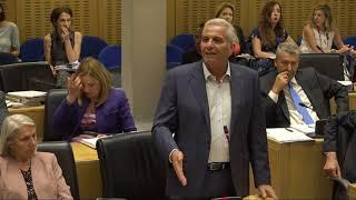 2018/07/13 - Συνεδρία Ολομέλειας της Βουλής - Μέρος B thumbnail