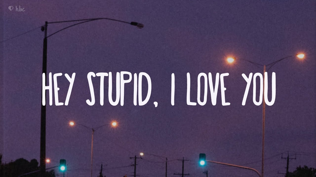 JP Saxe - Hey Stupid, I Love You (Lyrics)