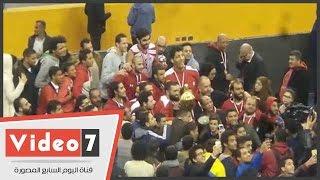 مصر تفوز على المغرب 96 / 90 وتتوج بالبطولة العربية للسلة