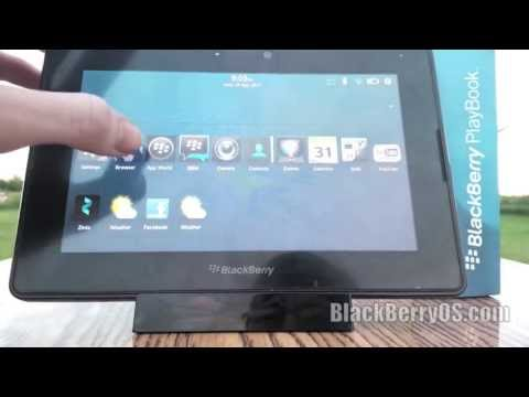 BlackBerry 10 Working On The PlayBook