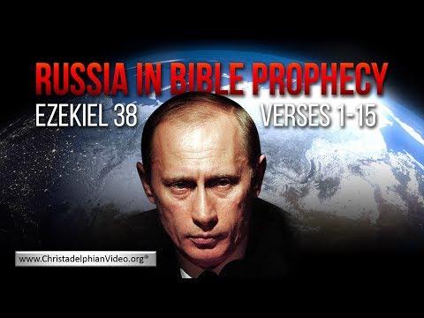 Russia in Bible Prophecy: ( Ezekiel 38 v1 15)