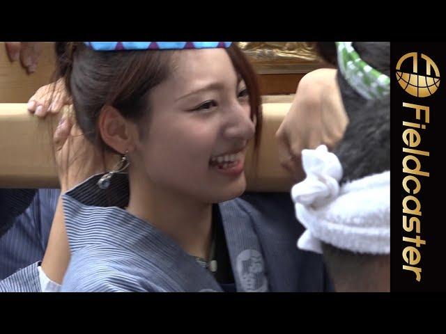 109にお神輿が集結 渋谷金王八幡宮例大祭が開催