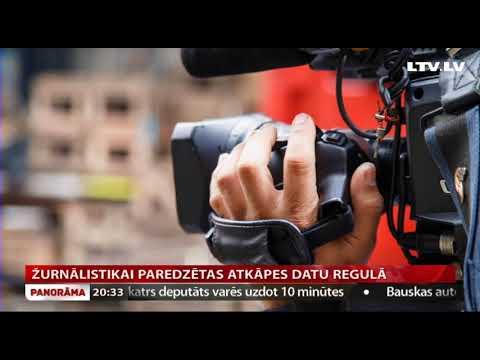 Žurnālistikai paredzētas atkāpes datu regulā