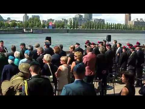Government of Canada marks the 75th anniversary of the Dieppe Raid in Montreal