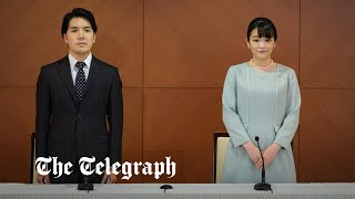 video: Japan's Princess Mako finally marries university sweetheart, forcing her to quit royal family