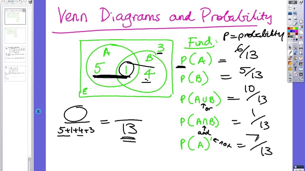 Year 10 venn diagrams and probability youtube year 10 venn diagrams and probability pooptronica