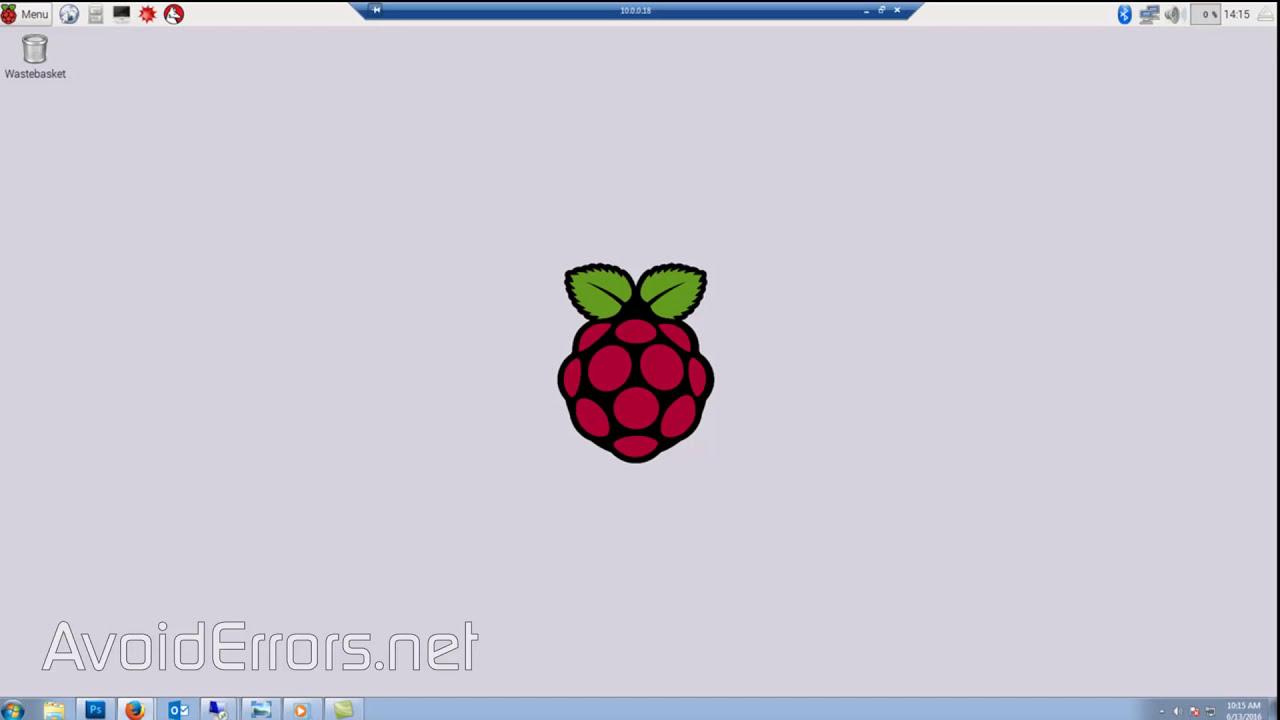 Remote Desktop Raspberry PI NOOBS from Windows