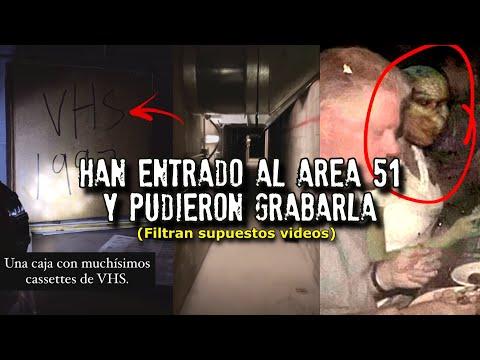 Han entrado al AREA 51 y pudieron grabarla