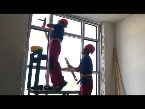 Kazakhstan Day 4 Window installation