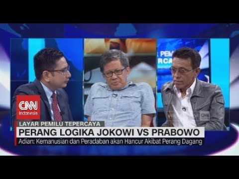 Seru! Debat Rocky Gerung Vs Adian Napitupulu Soal Perang Logika Jokowi - Prabowo Mp3