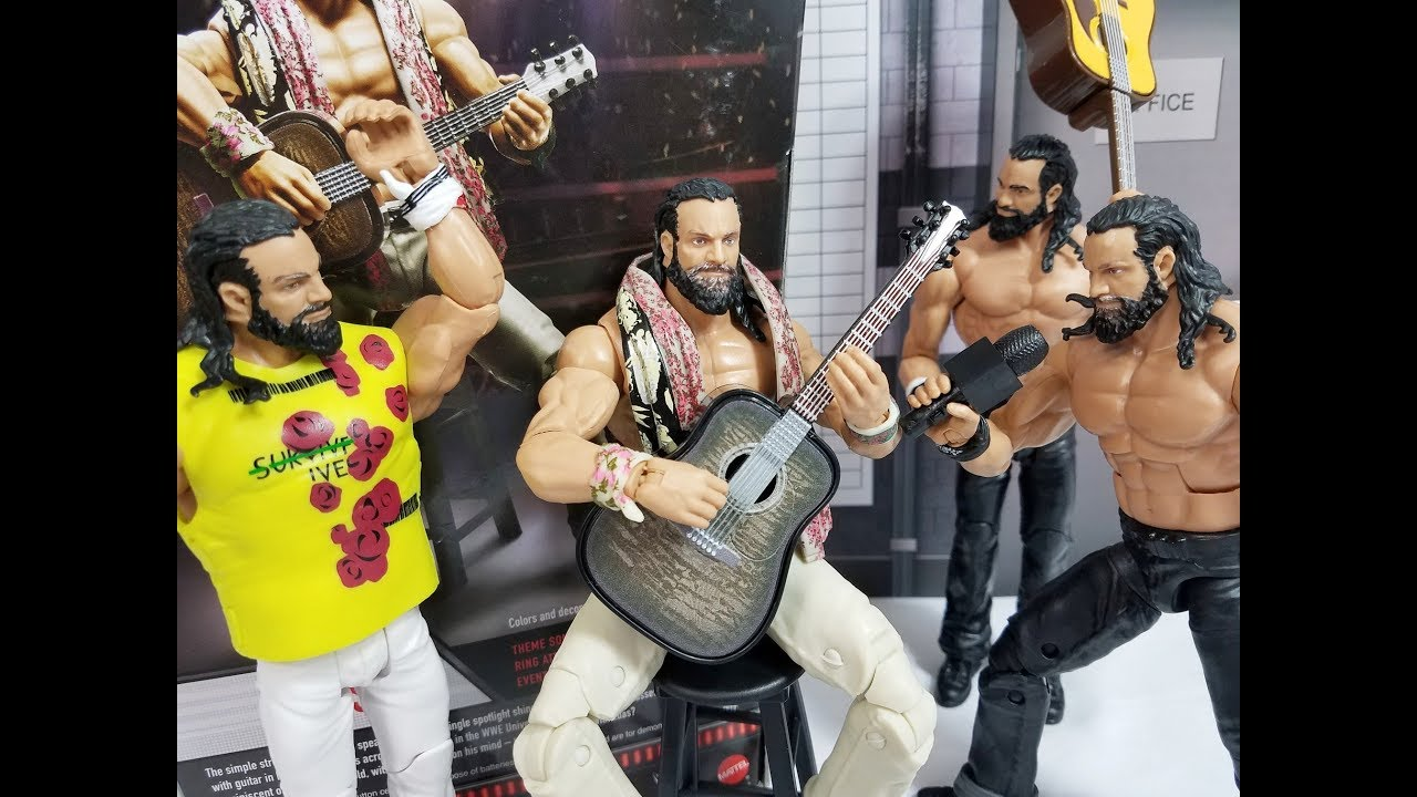 Elias WWE Entrance Greats Mattel Toy Wrestling Action Figure