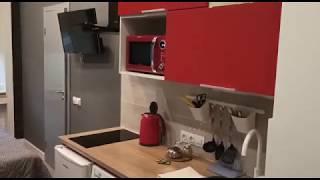 Обзор студии RED в апарт отеле 149б