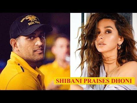 Shibani Dandekar is in awe of MS Dhoni's performance in IPL! thumbnail