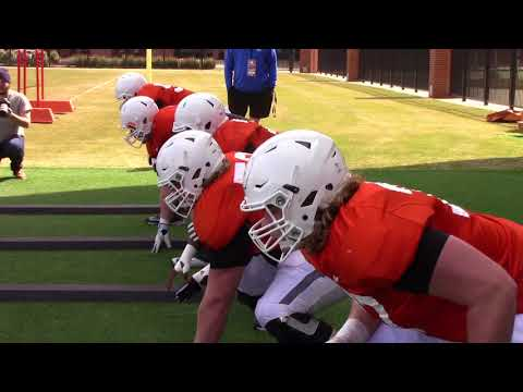 Shane Richards on Red Shirt and Offensive Line