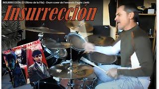 """""""Insurrección"""" de """"El Último de la Fila"""" - Ensayo con batería de Fernando Pagés. 2016-12-07"""
