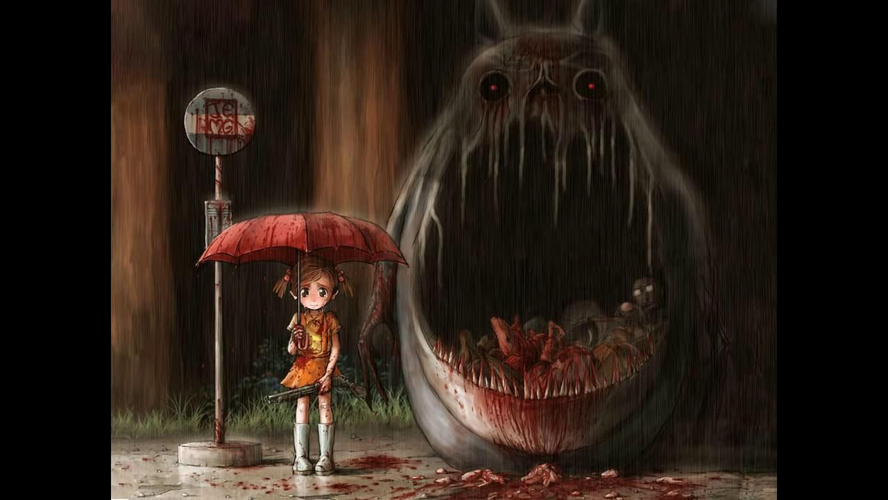 scary anime truths  ghibli urban legends   anime horror stories