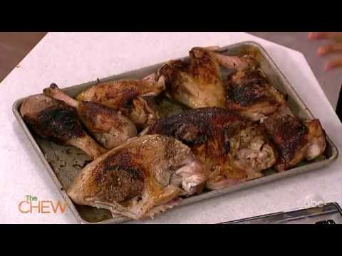 Pan Seared Turkey with Caramelized Onion and Roasted Garlic Recipe   The Chew