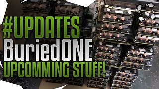 #UPDATES BuriedONE Farm Build/Cheap GPU Pre-Orders/Studio Progress/Car Series