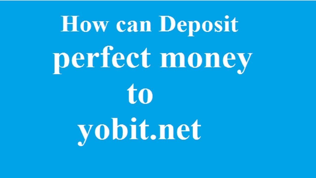 cara deposito btc di yobit