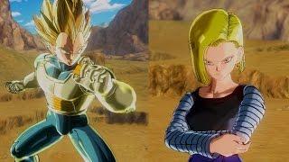 Android #18 vs Vegeta | Dragon Ball Xenoverse