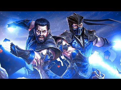 Mortal Kombat Sub-Zero Becomes CYBER Sub-Zero & Fights his Brother Noob Saibot