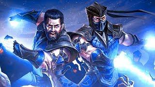 Mortal Kombat Sub-Zero Becomes CYBER Sub-Zero & Fights his Brother Noob Saibot