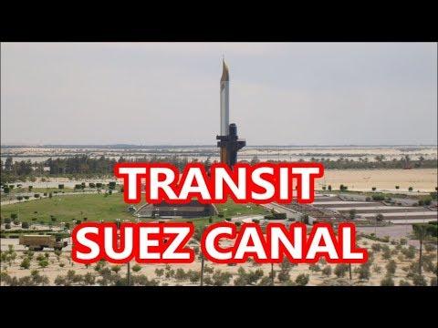 Transit Suez Canal - A brief information about SUEZ CANAL.
