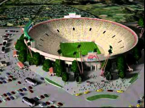 FIFA: RTWC 98 Stadium Intro - USA (Rose Bowl Stadium, Pasadena)