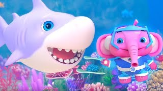 Baby Shark Doo Doo Doo Doo | Little Tritans | Nursery Rhymes & Baby Songs by Little Treehouse