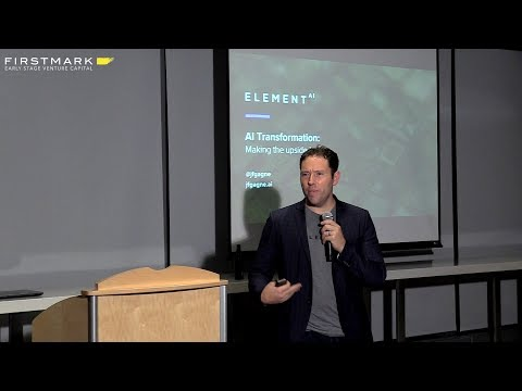 Jean-François Gagne, Element AI (FirstMark's Data Driven NYC)