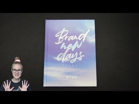 Unboxing BTOB 7th Japanese Single Album Brand new days ~どんな未来を~ [Limited Edition]