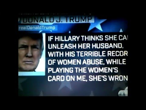 Donald Trump schools Savannah Guthrie discussing Bill Clinton scandals