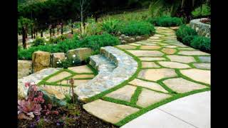 Unique Hillside Landscaping Design Ideas, Stylish Hillside Landscaping Design Ideas #3