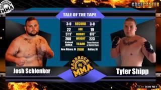 Hardrock MMA 86 Fight 13 Tyler Shipp vs Josh Schlenker Heavyweight Ammy Title