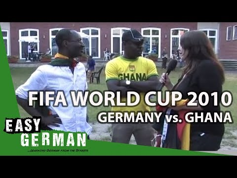 Easy German 15 - Fifa World Cup 2010: Germany vs. Ghana